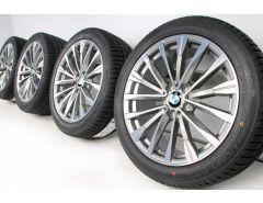 BMW Velgen met Winterbanden 3 Serie F34 19 Inch Styling 674 Doppelspeiche