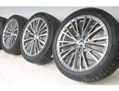 BMW Winterkompletträder 3er G20 G21 18 Zoll Styling 781 Vielspeiche