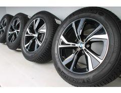 BMW Winterkompletträder X5 G05 X6 G06 18 Zoll Styling 689 Turbinenstyling