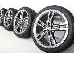 BMW Winterkompletträder 1er F40 2er F44 18 Zoll Styling 556 M Doppelspeiche