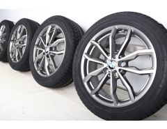 BMW Winterkompletträder X1 F48 X2 F39 18 Zoll Styling 711 Y-Speiche
