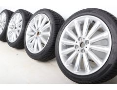 MINI Velgen met Winterbanden R50 R52 R53 R55 Clubman R56 R57 R58 R59 17 Inch Styling Infinite Stream Spoke R116