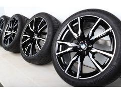 BMW Summer Wheels X7 G07 22 Inch Styling 755 M V-Speiche
