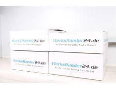 4x Reifenkarton / Komplettradkarton für Versand | Doppelwellig | 730x730x300 mm | bis 22 Zoll