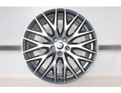 1x BMW Velg 5 Serie G30 G31 20 Inch Styling 636 Kreuzspeiche