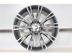 BMW Alloy Rim X3 G01 X4 G02 21 Inch Styling 726 V-Spoke
