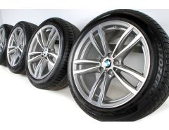BMW Winter Wheels 6 Series G32 7 Series G11 G12 19 Inch Styling 647 M Doppelspeiche