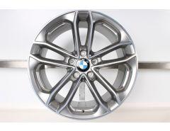 1x BMW Alufelge 3er F34 19 Zoll Styling 673 Doppelspeiche