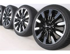 MINI Velgen met Winterbanden F55 F56 F57 17 Inch Styling Roulette Spoke 502