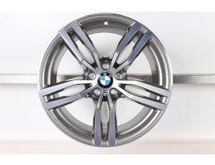 1x BMW Velg X6 F16 19 Inch Styling 623 M Doppelspeiche