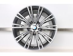 BMW Alloy Rim X5 F15 X6 F16 20 Inch Styling 551 V-Spoke