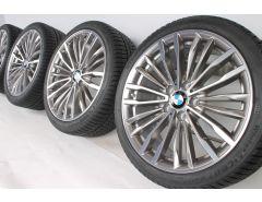 BMW Velgen met Winterbanden 3 Serie F30 F31 4 Serie F32 F33 F36 19 Inch Styling 708 Vielspeiche