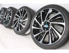 BMW Sommerkompletträder i8 I12 I15 20 Zoll Styling 625 Turbinenstyling