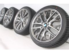 BMW Winter Wheels X1 E84 19 Inch Styling 465 Doppelspeiche
