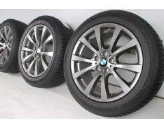 BMW Winterkompletträder X5 E70 X6 E71 19 Zoll Styling 298 M V-Speiche