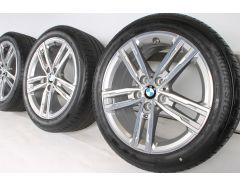 BMW Velgen met Zomerbanden 1 Serie F40 2 Serie F44 17 Inch Styling 550 M Doppelspeiche