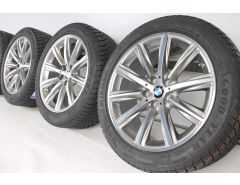 BMW Winter Wheels 5 Series G30 G31 18 Inch Styling 684 V-Spoke