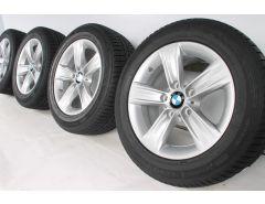 BMW Winterkompletträder 3er F30 F31 4er F32 F33 F36 16 Zoll Styling 391 Sternspeiche