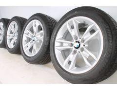 BMW Sommerkompletträder X1 E84 17 Zoll Styling 319 Sternspeiche