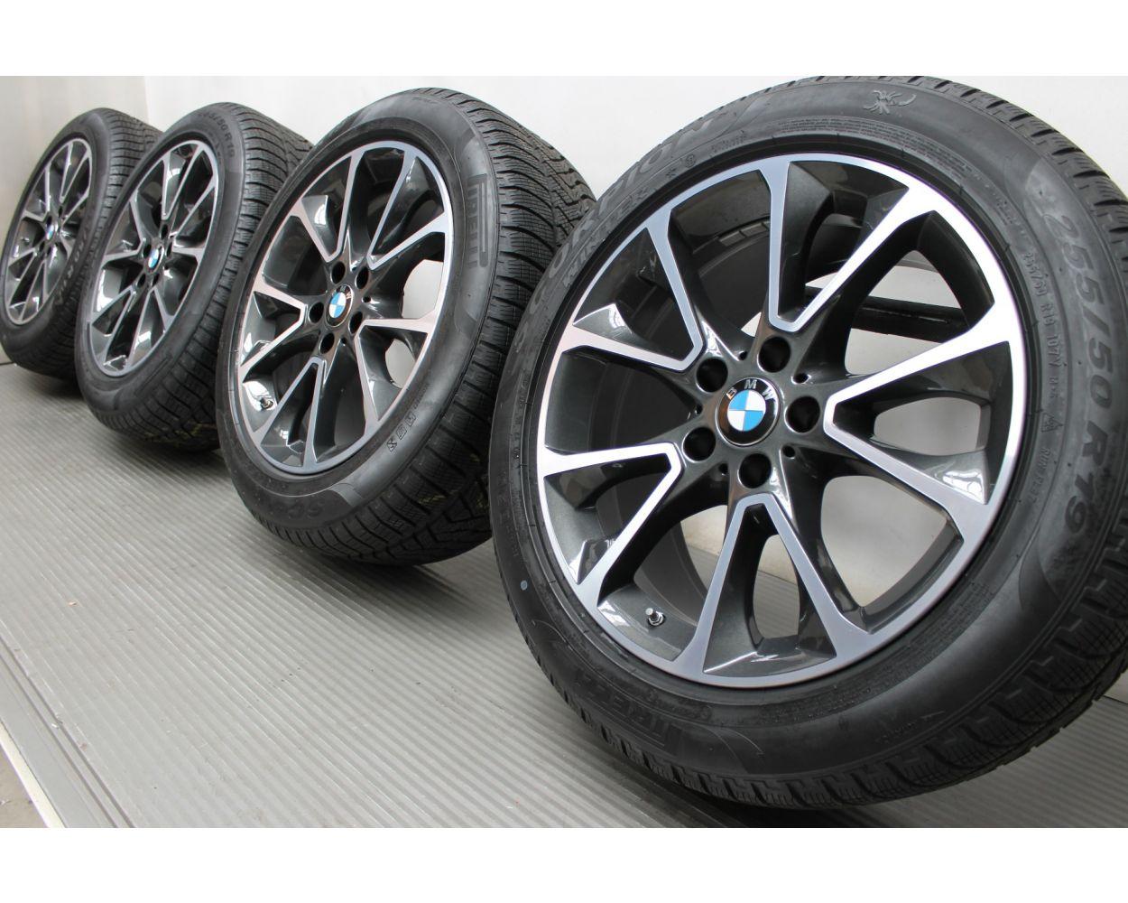 Bmw Winter Wheels X5 F15 19 Zoll 449 Star Spoke Rdc Bicolor