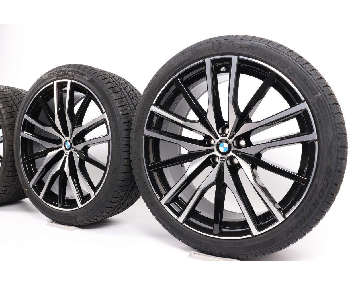Bmw Summer Wheels X3 G01 X4 G02 18 Zoll V Spoke 618 Rdc Silber