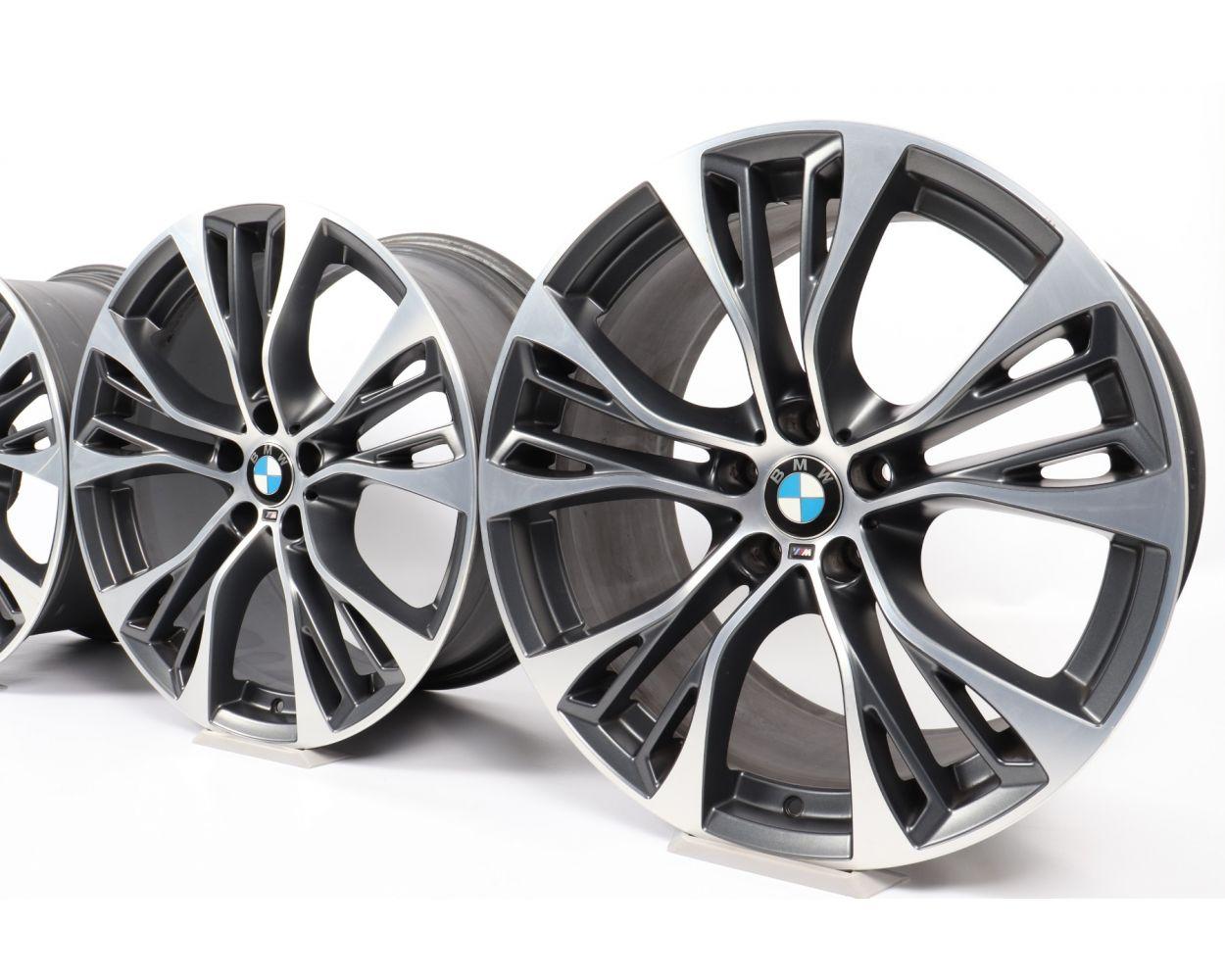 4x Bmw Alloy Rims X5 F15 X6 F16 21 Inch Styling 599 M Double Spoke