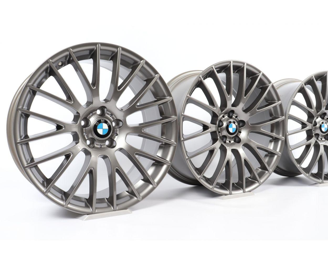 4x Bmw Alloy Rims 5 Series F07 7 Series F01 F02 21 Inch Styling 312 Kreuzspeiche