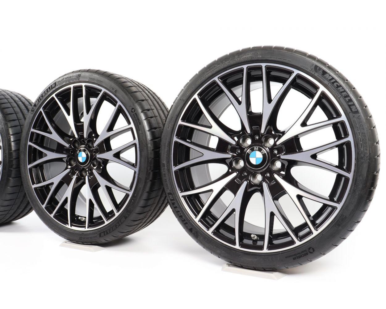 Bmw Summer Wheels 3er F30 F31 4er F32 F33 F36 20 Zoll 624 M Double Spoke Rdc Bicolor