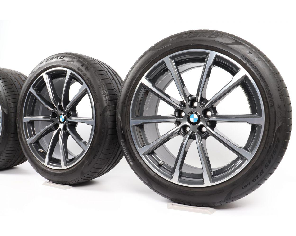 Bmw Summer Wheels 8er G14 G15 G16 20 Zoll 733 Doppelspeiche Rdc Bicolor