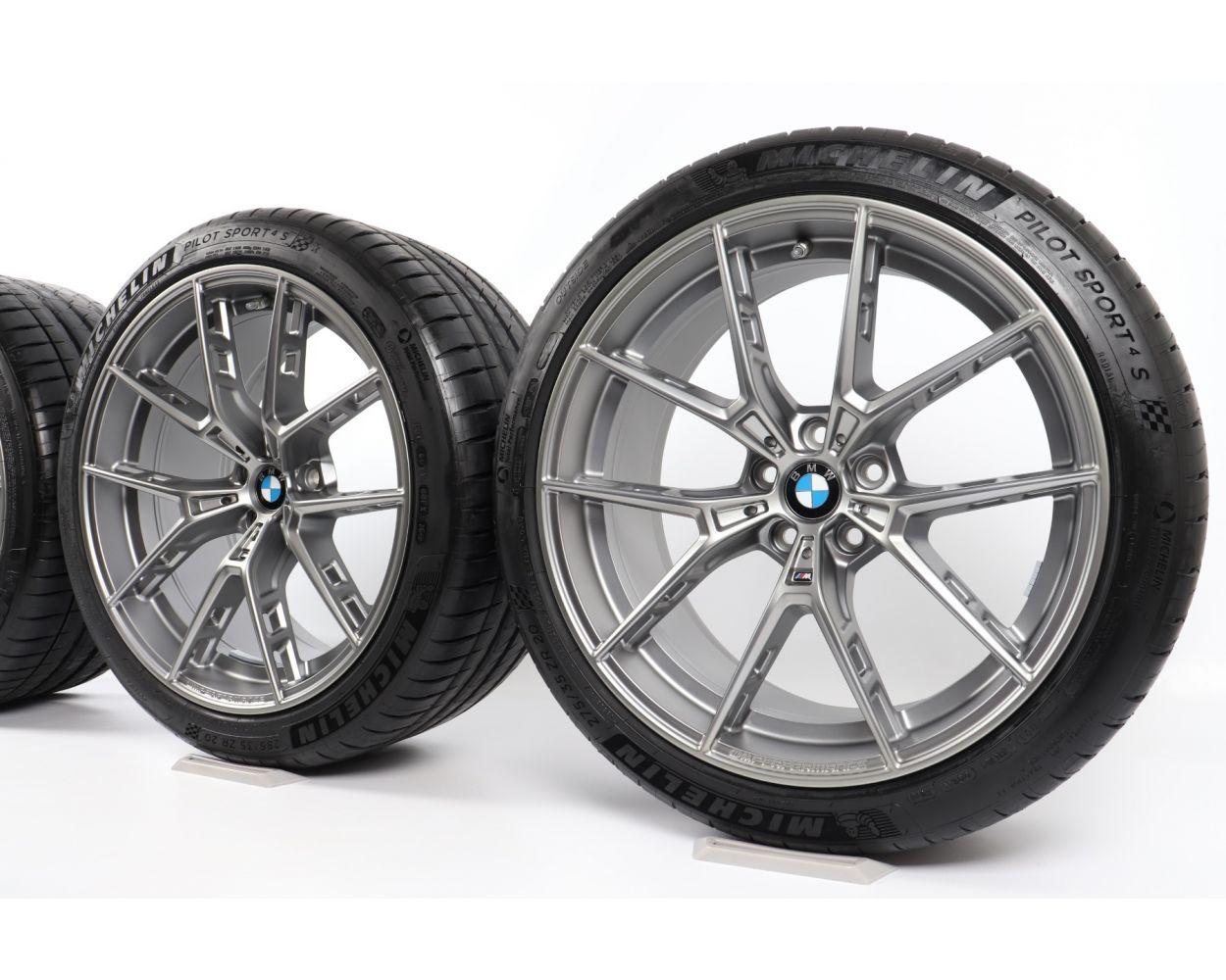 Bmw Summer Wheels M5 F90 20 Zoll Alufelgen M Double Spoke 706 Bicolor