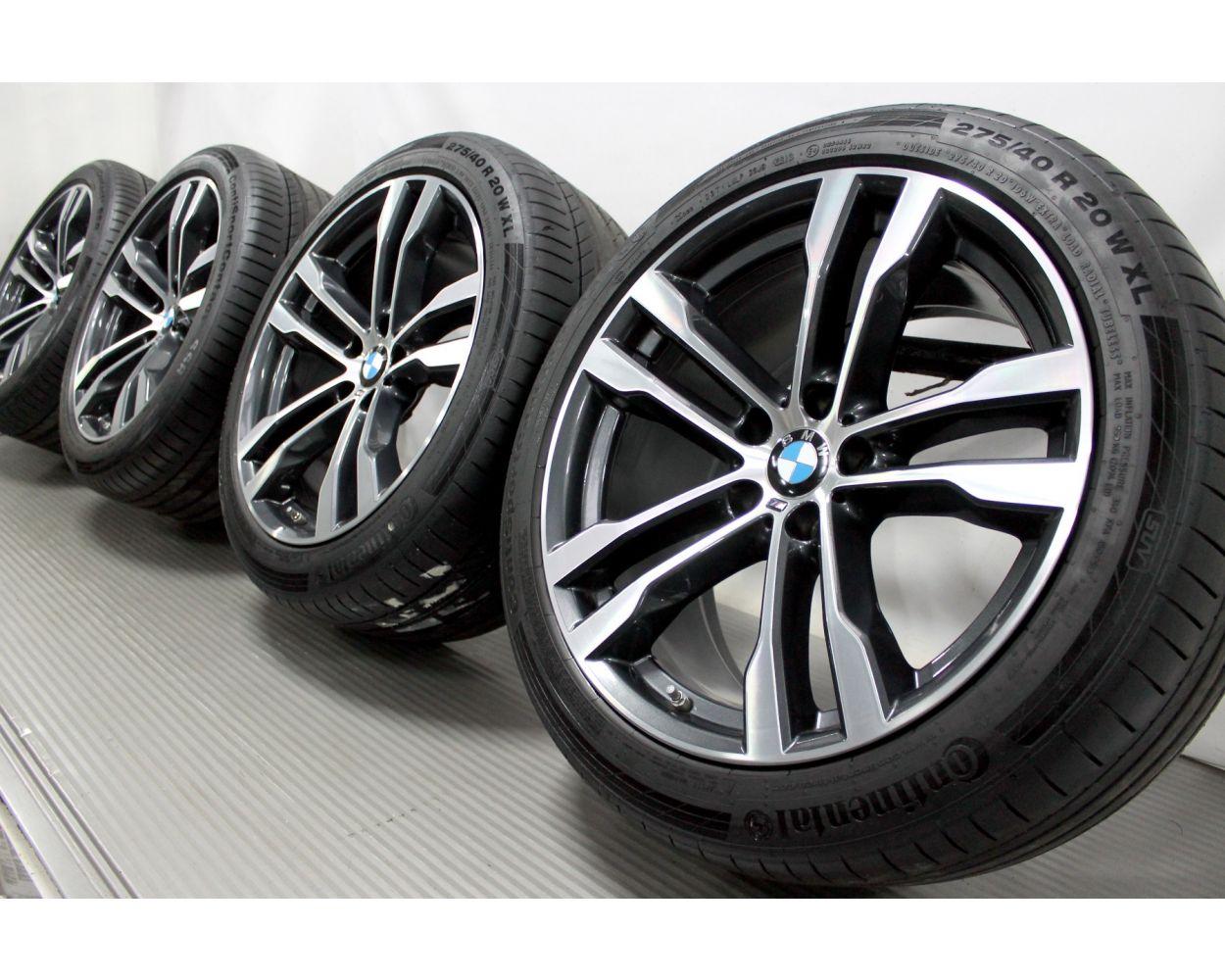 Bmw Summer Wheels X5 F15 X6 F16 20 Zoll 469 M Double Spoke