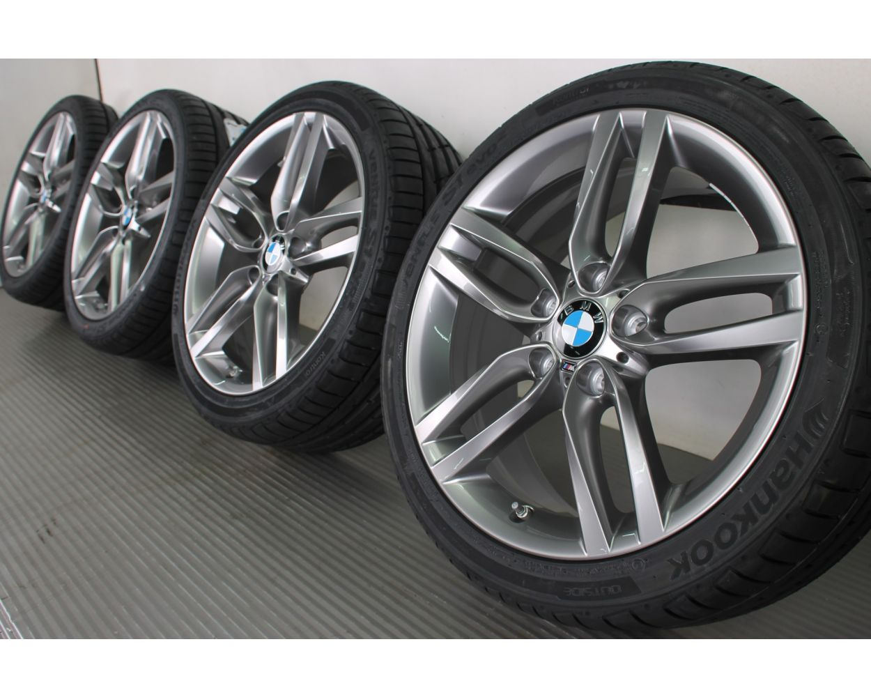 Bmw Summer Wheels 1er F20 F21 2er F22 F23 18 Zoll 461 M Double Spoke Rdc Ferricgrey
