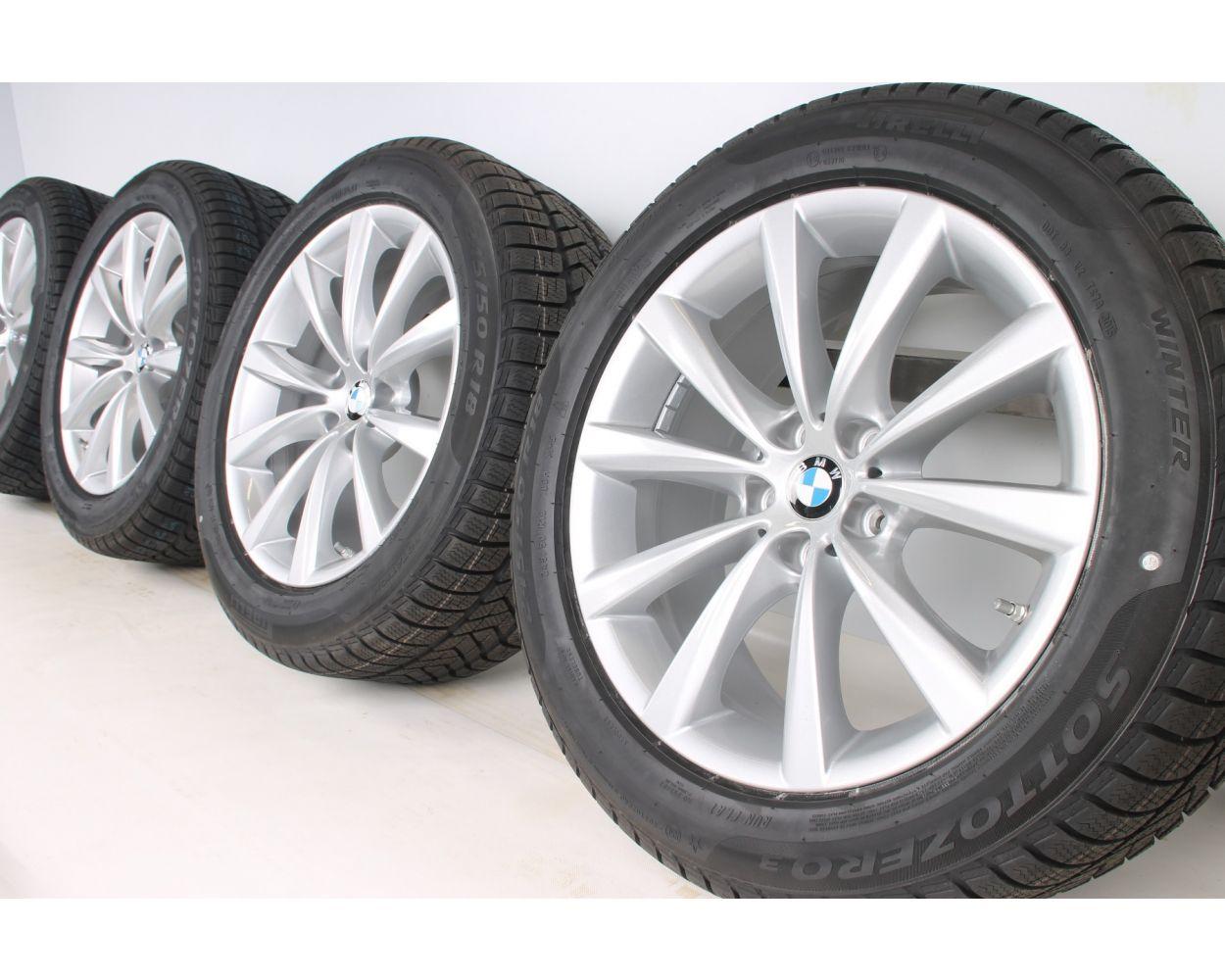 Bmw Winter Wheels 6er G32 7er G11 G12 18 Zoll 642 V Spoke Rdc Silber