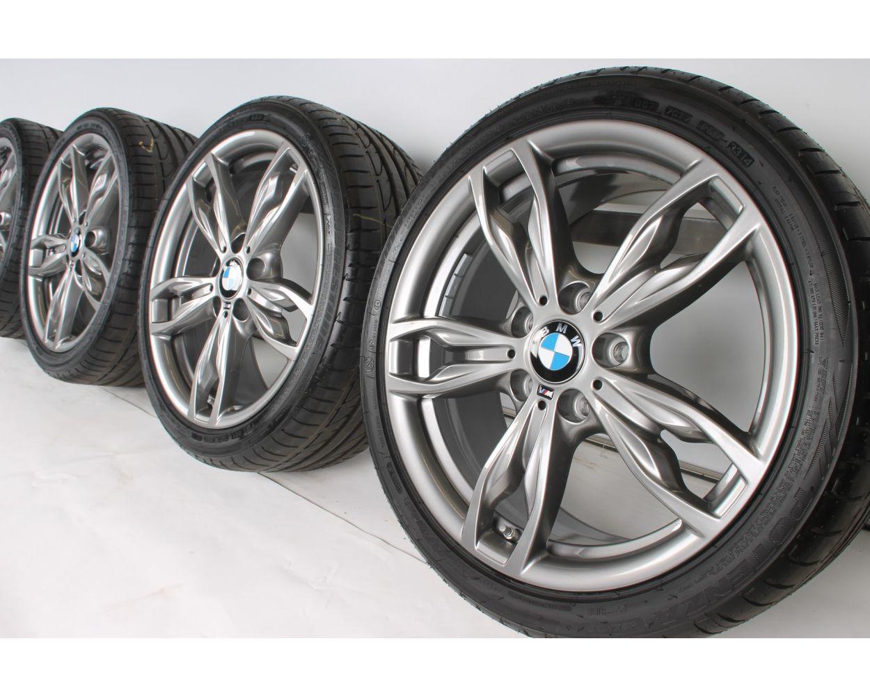 Bmw Summer Wheels 1er F20 F21 2er F22 F23 18 Zoll 436 M Double Spoke Ferricgrey