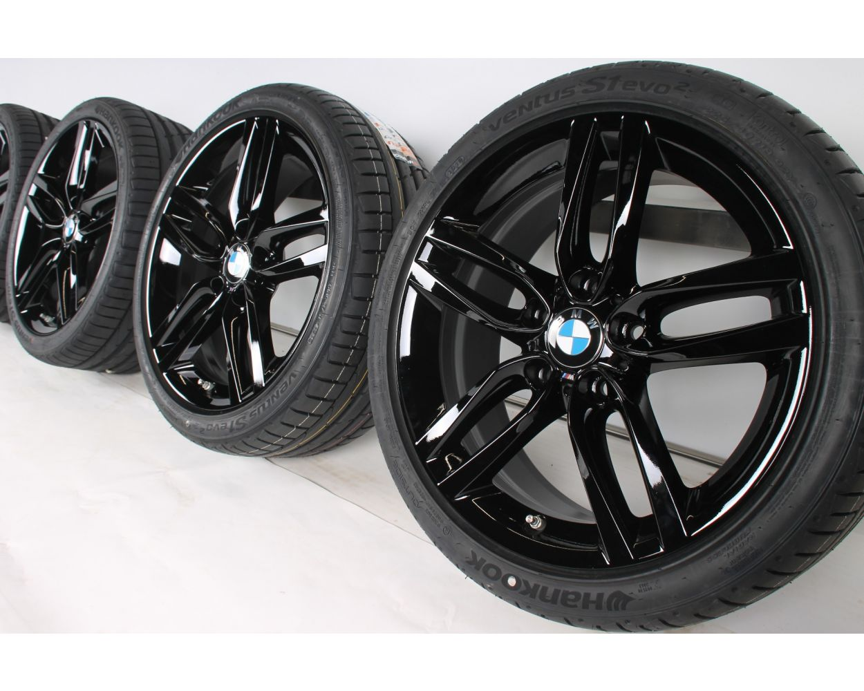 Bmw Summer Wheels 1er F20 F21 2er F22 F23 18 Zoll 461 M Double Spoke Rdc Silber