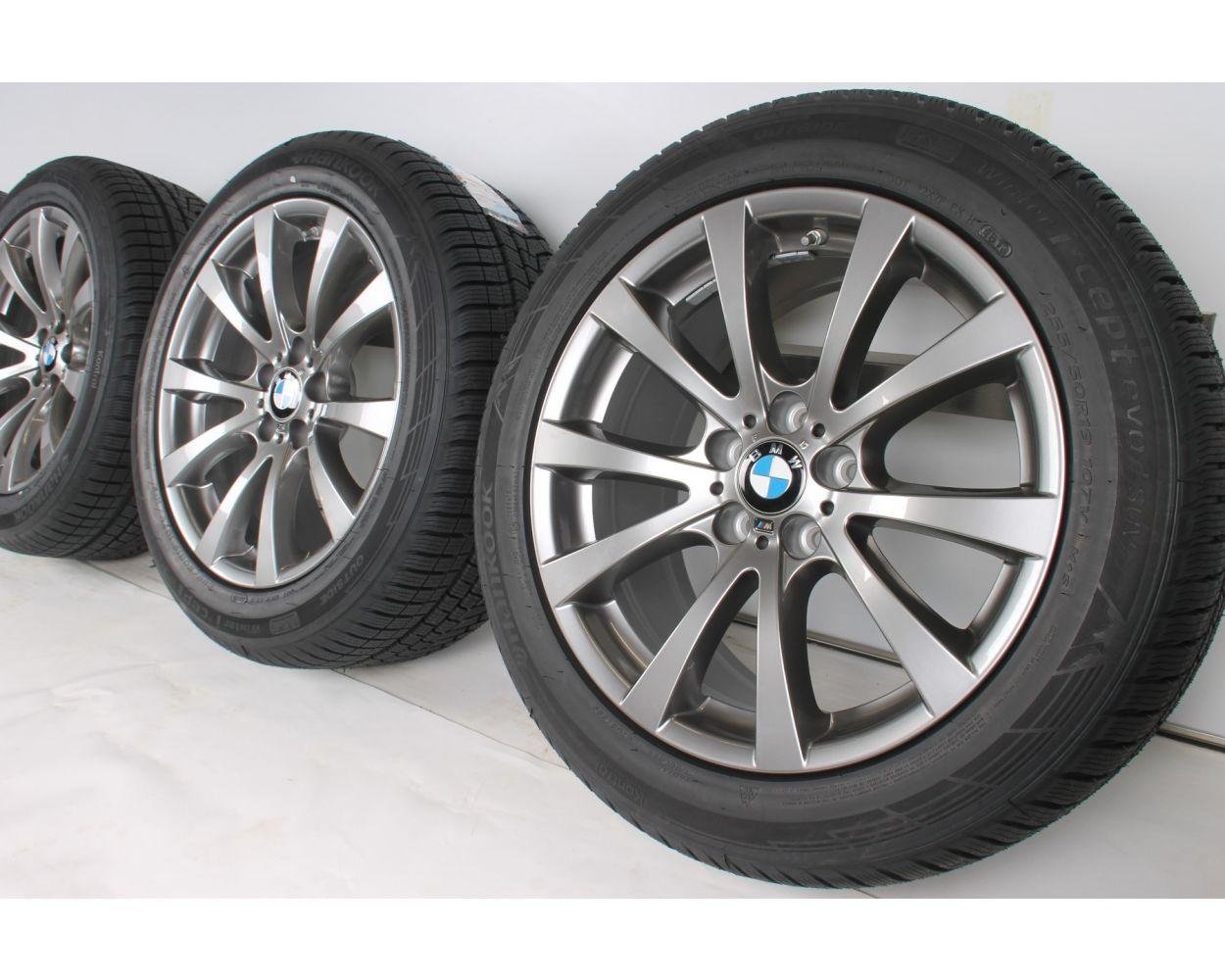Bmw Winter Wheels X5m E70 X6m E71 19 Zoll M V Spoke 298 Silber