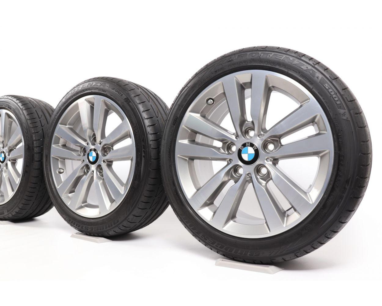 Bmw Summer Wheels 1er F20 F21 2er F22 F23 17 Zoll 655 Double Spoke Ferricgrey